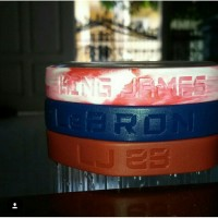 GELANG NIKE BALLER ID BANDS LEBRON JAMES (VERY VERY LIMITED EDITION)