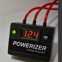 POWERIZER Voltage Regulator / Voltage Stabilizer / Voltmeter