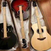 gitar yamaha akustik elektrik apx 500ii
