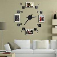 Jual Jam Dinding Frame Interior Home Decoration Kota Madiun All Stuff Tokopedia