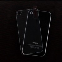 Taff 2.5D Tempered Glass Screen Protection for Iphone 4/4S Incl Back