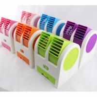 Ac Duduk Mini FRAGRANCE DOUBLE FAN 2nd Portable Kipas Aroma Terapi