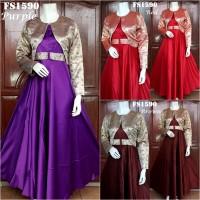 Baju Pesta Cardi Dian Pelangi FS1590 ( Songket Palembang)