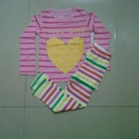 Piyama Baby GoP I Love Dad Pink