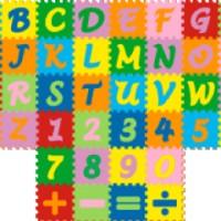 Jual Puzzle Matras / Evamats / Evamat / Alphabet Angka Simbol - Tikar Anak Murah