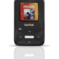 SanDisk Sansa Clip Zip 4GB MP3 Player, Black with Full-Color (PROMO)