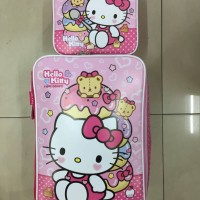 Tas Trolley SD Hello Kitty + lunch bag