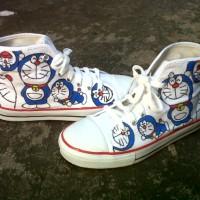 harga Sepatu Lukis Doraemon Tokopedia.com
