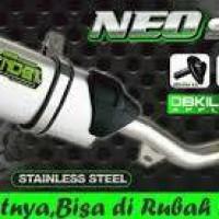 knalpot NOB1 Neo SS Yamaha Jupiter Z Vega R