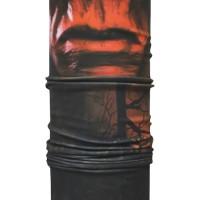 CK Bandana 1509008 Buff Masker Multifungsi Motif Red Skull