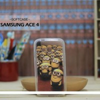 Custom Case HP Softcase Samsung Ace 4 The Minions