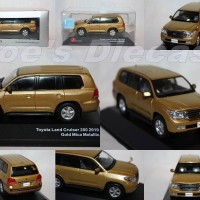 "1:43 (Jcollection) Toyota Land Cruiser 200 2010 Gold Mica Metallic ""Wi"
