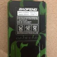 Baterai cadangan model ori kapasitas 1800 mAh Loreng HT BAOFENG UV-5R