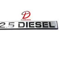 Emblem 2.5 L DIesel Kuda (Mark Logo Diesel Kuda Mitsubshi)