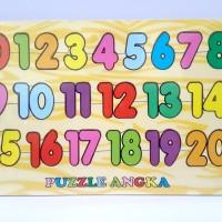 Puzzle Kayu Angka 1 20