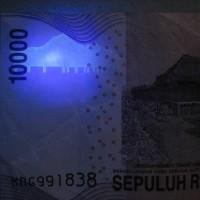 Led clear Ungu - Ultra violet (bisa untuk lihat hologram uang kertas)