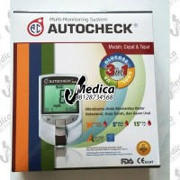 AUTOCHECK CGU MULTI MONITORING SYSTEM 3 IN 1 NEW