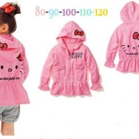 harga jaket anak hello kitty, jaket anak perempuan, jaket anak branded Tokopedia.com