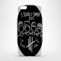 5 second of summer black Hard case Iphone case dan semua hp
