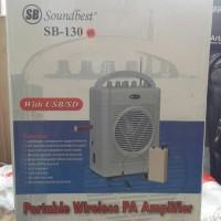 harga Portable Wireless Meeting Soundbest Sb 130 Tokopedia.com