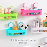 harga Rak Gantung Serbaguna (Persegi), modern, pasangnya tanpa bor keramik Tokopedia.com
