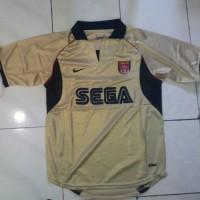 Jersey Retro Arsenal Sega Gold