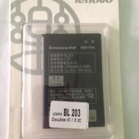 Baterai Lenovo Bl 203 (a369, A369i Dll)