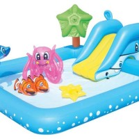 harga Kolam Bestway Fantastic Aquarium Play Pool Tokopedia.com