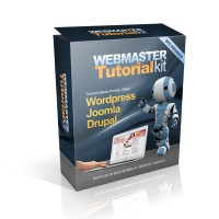 VIDEO WEBMASTER TUTORIAL KIT, VIDEO TUTORIAL JOOMLA, VIDEO TUTORIAL WORDPRESS, VIDEO TUTORIAL DRUPAL