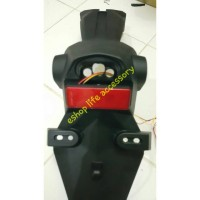 Lampu Mata kucing LED light reflektor Motor Yamaha stop rem stoplamp