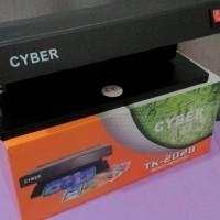 Money Detector Alat Pendeteksi Uang Palsu 2x6 watt Terang Jelas Tepat