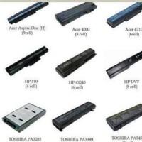 Baterai Laptop Acer, Asus, Lenovo, Hp, Compaq, Sony, Fujitsu, dll