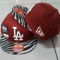 snapback   topi LA zebra red 8102b3eb6c