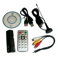Gadmei TV Tuner USB Stick 380 - Hitam ( notebook / PC ) - HITAM
