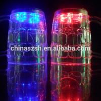 Gelas unik sensor nyala warna warni / led light dr