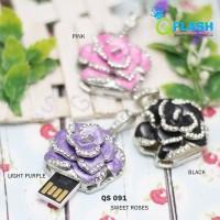 harga Flashdisk Unik Sweet Roses Bunga Mawar Cantik 16GB Tokopedia.com
