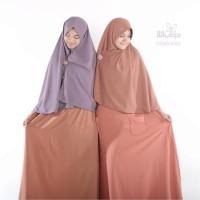 harga Hijab Alila Gamis Premium Orange Bata Tokopedia.com