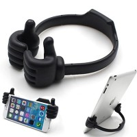 Thumb Holder Smartphone & Tablet up to 7 Inch / Stand hp & tablet