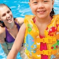 Jual Pelampung Anak Rompi Renang Merk Intex Untuk Anak 1, 2, 3, 4 Tahun Murah