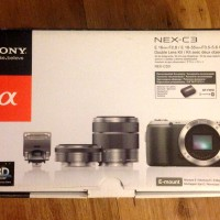 Sony Alpha NEX - C3D