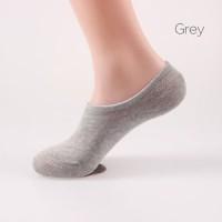 Gray Men Invisible Socks No Show Socks