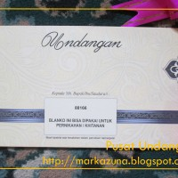 Undangan Pernikahan, Sunatan, Dll UM-88166 Blanko