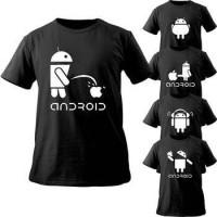 Jual kaos android Murah