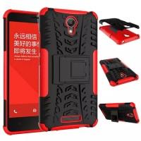 [RED] Armor Dazzle Case Kick Stand for Xiaomi Redmi Note 2 Prime