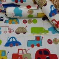 harga Sprei Tempat Tidur Bayi + Set 2 Sarung Guling & 1 Sarung Bantal Tokopedia.com