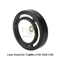 Fuji X10 / X20 Lens hood (Hitam)