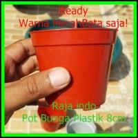 Pot Bunga 8cm - Pot Tanaman Plastik - Harga Grosir Murah