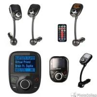 Bluetooth A2DP FM Transmitter Car Kit MP3 Player