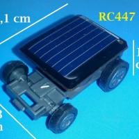 Mainan Edukasi Mobil Tenaga Surya Terkecil di Dunia - RC447