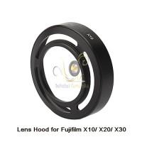 Lens Hood Untuk Fuji X10/ X20/ X30 (hitam)